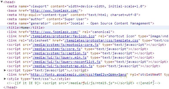 Joomla! 3 删除原生JS框架