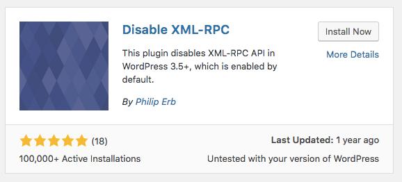 WordPress防止xmlrpc.php大量消耗服务器资源
